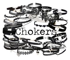 """""""Chokers"""" by chelcy2003 on Polyvore featuring Miss Selfridge, Humble Chic, WithChic, Azalea, Wet Seal, Alex and Ani, Amanda Rose Collection, Joomi Lim, Fallon and BERRICLE"""