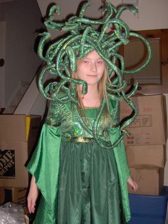 awesome medusa costumemaybe next year - Medusa Halloween Costume Kids