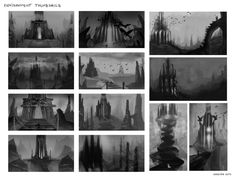 Environment thumbnails by Marina13m on DeviantArt