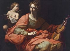 Giuseppe Puglia (c.1600–c. 1636), St. Cecilia, c. 1630, oil on canvas