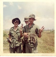 27th Infantry Regiment soldiers ~ Vietnam War    THEY WANTED PEACE, TOO!!!!!!!