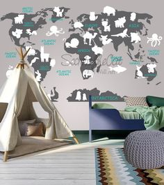Avitation world map decal airplane map wall decal clear vinyl world map decal map decal world map children wall decal map wall gumiabroncs Choice Image