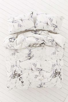Shop all things marble at Urban Outfitters. From decor and kitchenware to bedding and stationery, deck out your space with tons of cool, modern marble. Marble Bedding, Marble Duvet Cover, Marble Bedroom, Bedroom Bed, Bedroom Apartment, Dream Bedroom, Bedroom Ideas, Bedroom Designs, Bedroom Decor