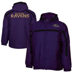 Baltimore Ravens Preschool Huddle Full Zip Jacket - Purple - $32.99