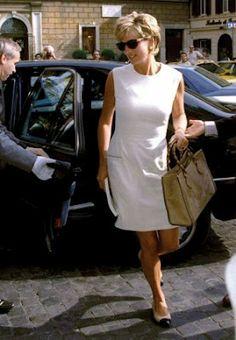 prinses Diana....wonderful style!