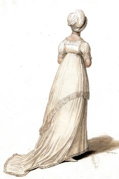 Evening Gown. 1803 Le Miroir de la Mode.