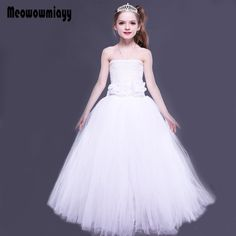 776a5fc3976c8c Click to Buy    Kids dresses for girls wedding evening party dress 2017