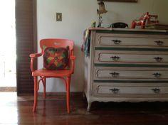 Cadeira reciclada