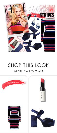 """""""Spring-Summer 17 (Plus Size Chic)"""" by foolsuk ❤ liked on Polyvore featuring Topshop, Bobbi Brown Cosmetics, Jeffrey Campbell and Red Herring"""
