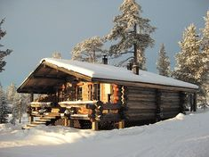 Log cabins in Finland