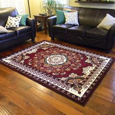 $119.99 rug Persian (Kingdom D-141) Secondary Color, Primary Colors, Discount Rugs, Rug Store, Cool Rugs, Rugs Online, Oriental Rug, Color Mixing, Persian