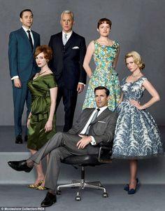 The cast: Christina Hendricks,  Elisabeth Moss,  January Jones,  Vincent Kartheiser, John Slattery,  Jon Hamm are returning for the final se...