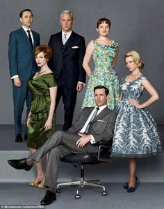 The cast: Christina Hendricks,  Elisabeth Moss,  January Jones,  Vincent Kartheiser, John Slattery,  Jon Hamm are returning for the final se...