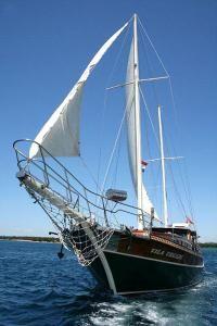 Charter Vila Vrgade, 4 cabins, 8 berths. Charter her in #Croatia. Click for more info: http://www.sailingeurope.com/en/yacht-catalogue/gulets/3/2513/croatia/vila-vrgade