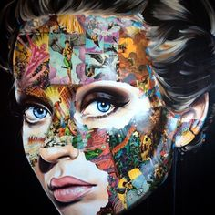 New painting by Sandra Chevrier