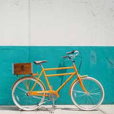 Driggs 7 Tangerine by Brooklyn Cruiser #bikes