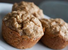 Low-carb banana muffins. Only 5 net carbs and hearty.