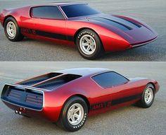 Prototipos de autos de los años 70!