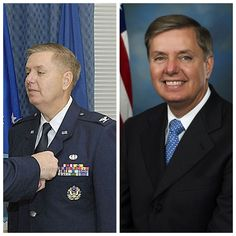 Lindsey Graham-Air Force-Colonel-Judge Advocate General Corp-1982-88 Reserve-1988-present (Senator South Carolina)