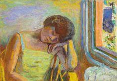 PierreBonnard-Femmme-endormie-