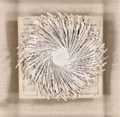 Lenore Tawney  Impetus  paper, mixed media