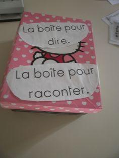 Les Boîtes de langage. Petite Section, French Immersion, Montessori, Back To School, Alphabet, Lunch Box, Activities, Parents, Ps