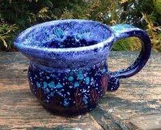 Hand Thrown Pottery Pitcher or Gravy Boat by TheFathersMarket, $24.00