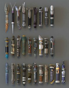 Light Saber Hilts