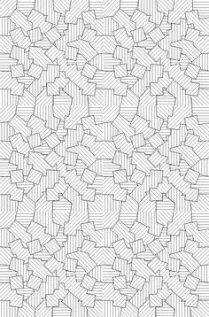 Ausmalen Erwachsene Geometrische Motive