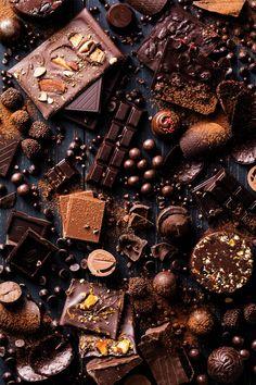 Chocolate Dreams, Chocolate Sweets, I Love Chocolate, Chocolate Art, Chocolate Lovers, Justus Von Liebig, Chocolate Tumblr, Le Cacao, Food Wallpaper