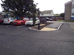 New hospital car park Millom