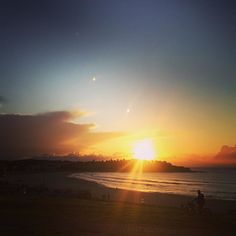 The start to Another Beautiful day @dabriella #bondi #bondibeach #bondisunrise #beach #sea #surf #surfing #sand #sunrise #spring by aprillaq http://ift.tt/1KBxVYg