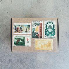 vintage postage.