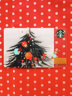 Be merry. #StarbucksCard