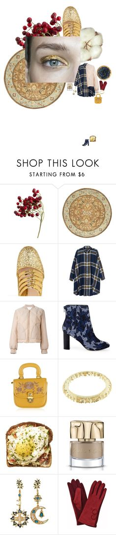 """Черника и рябина"" by anya-moscow ❤ liked on Polyvore featuring Safavieh, Miu Miu, Monki, See by Chloé, Sole Society, Louis Vuitton, Smith & Cult, Winter, set and look"