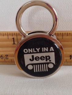 Jeep Keychain Solid Brass Personalized Free by KATSKEYCHAINS