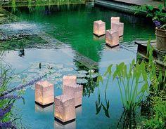 Les lanternes photophores flottantes en papier