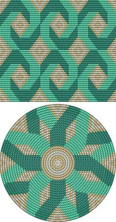 Best Crochet Stitches ergahandmade: 17 Best Motifs about Croche Wayuu, Tapestry Video Tutorials Tapestry Crochet Patterns, Crochet Motifs, Crochet Chart, Loom Patterns, Crochet Stitches, Cross Stitch Patterns, Knitting Patterns, Beading Patterns, Mochila Crochet