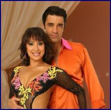 DWTS Season 8 Spring 2009 Gilles Marini and Cheryl Burke Placed 2nd