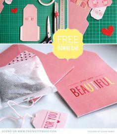 DIY Teabag envelopes