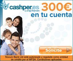 Los #créditos con ASNEF de Cashper permiten obtener hasta 500 euros en muy pocos minutos