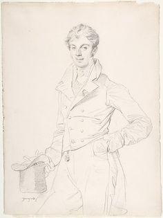 Lancelot-Théodore, comte Turpin de Crissé Jean Auguste Dominique Ingres (French, Montauban 1780–1867 Paris) Sitter: Portrait of Comte Turpin...