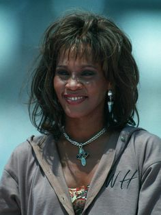 July 25, 1994 - Scarborough, North Yorkshire, England - WHITNEY HOUSTON, singer