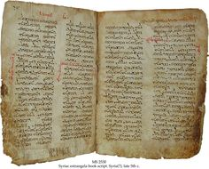 Syriac Christian Bible- written in Ancient Aramaic dialect, Aramaic speaking people residing in this period used the Bible as a source of of inspiration and for guidance in daily living.       120 CE