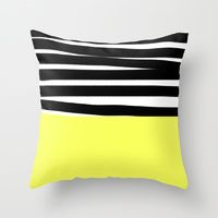 Throw Pillow featuring Sarah by Gonpart