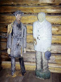 Poor man statue, Finland / Kempeleen vaivaisukot