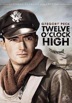 Dashing Gregory Peck stars as General Frank Savage, commander of the 8th Air Force during World War II. Loosely based on the true story of Major General Frank A. Armstrong, TWELVE O'CLOCK HIGH begins