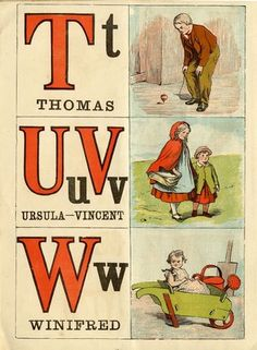 The good boys' and girls' alphabet