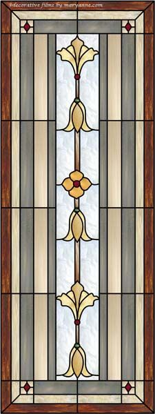 Bevel Stained Glass Window 1 Decorative Window Film | House Projects ...