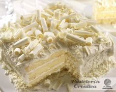Pastelería Creativa: Pastel relleno de chocolate blanco